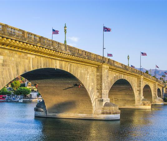 哈瓦苏湖伦敦桥旅游景点风景