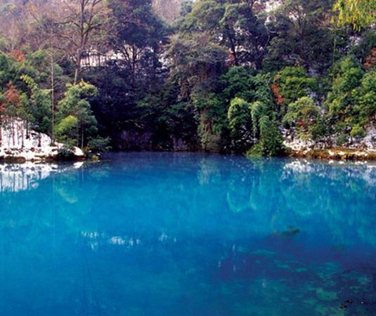 荔波樟江旅游景点风景