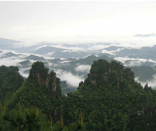 美女峰国家级森林公园旅游景点风景